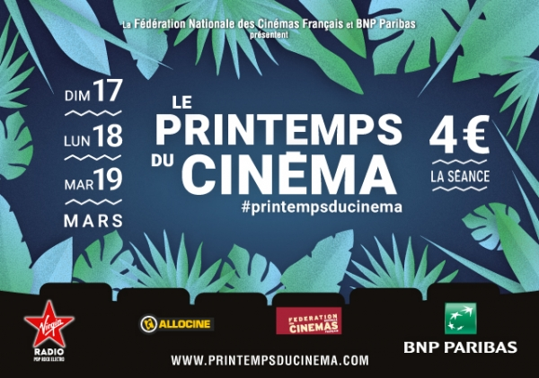 Printemps du cinéma 2019 !