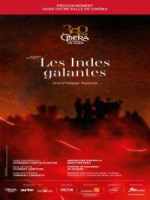 Les Indes galantes (EN DIRECT DE L'OPÉRA BASTILLE  le Jeudi 10 octobre 2019 à 19H15)