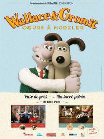 WALLACE&GROMIT : COEURS A MODELER